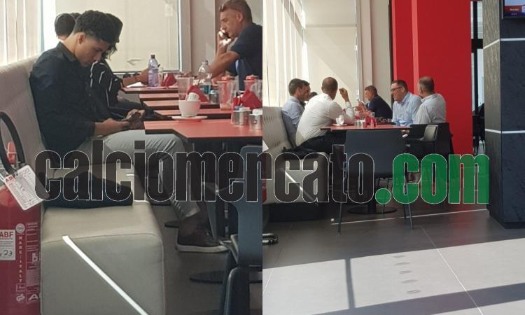 Silvestre a Casa Milan per chiudere Luan Capanni