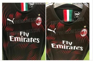b8237e50629 AC Milan's 2019/2020 third shirt leaked | English News ...