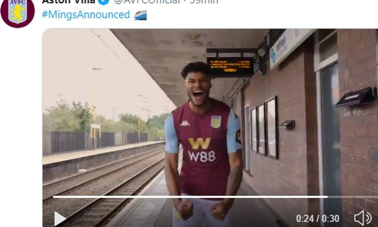 Aston Villa, UFFICIALE: torna Mings