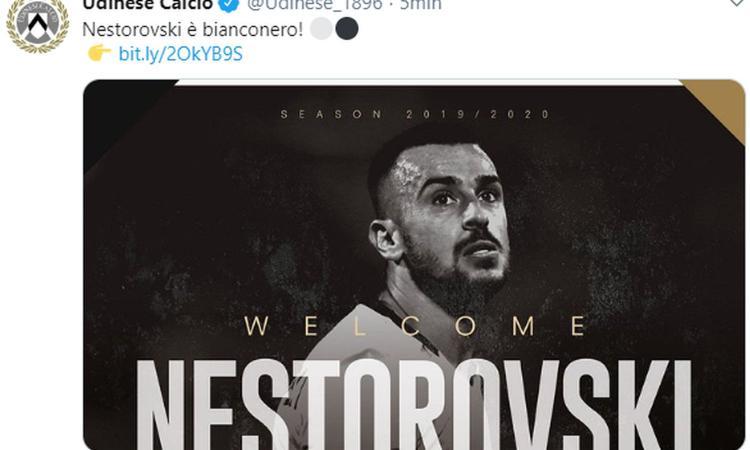 Udinese, UFFICIALE: colpo Nestorovski