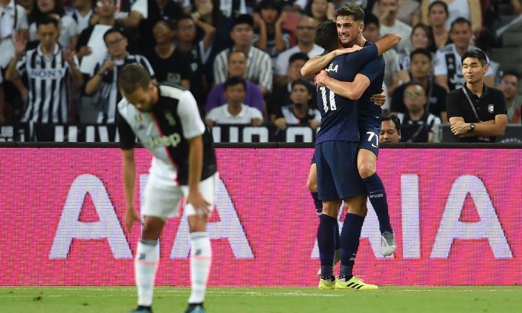 ICC, Juventus-Tottenham 2-3: Sarri ko all'esordio, decide Kane con una magia