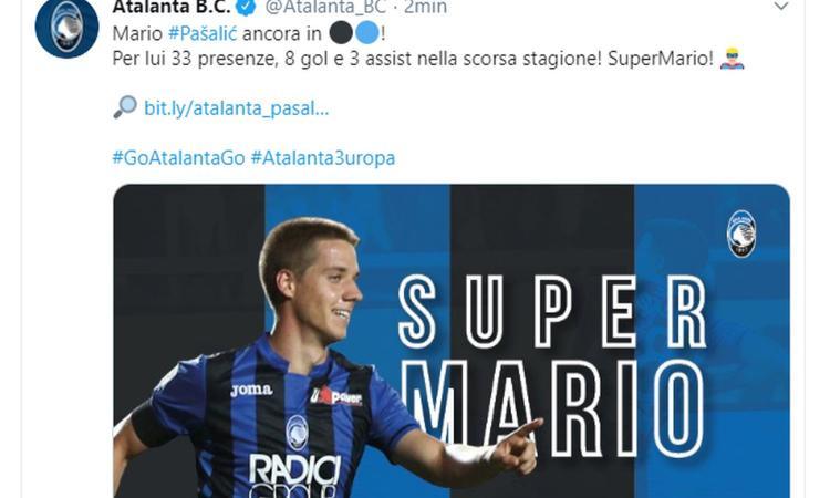 UFFICIALE: Pasalic rinnova con il Chelsea e torna all'Atalanta in prestito