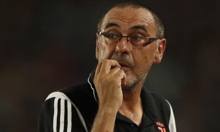 Juve, Sarri: 'Presto per fare bilanci. Ronaldo? Era affaticato...'