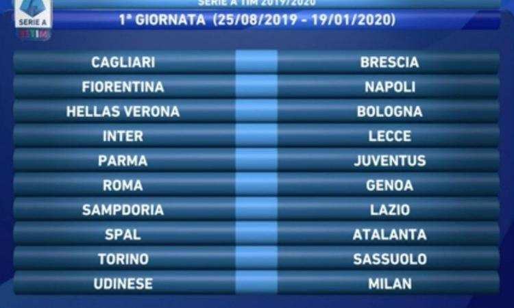 Spal Calendario.Serie A All The Probable Line Ups Of Matchday 1 English