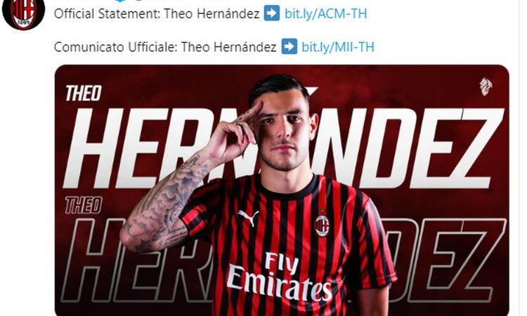 Milan-Novara 1-1: Theo Hernandez evita il ko alla prima di Giampaolo, fuori André Silva