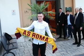 Veretout Roma sciarpa