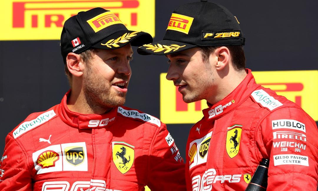 Vettel, Leclerc e la lotta per il potere