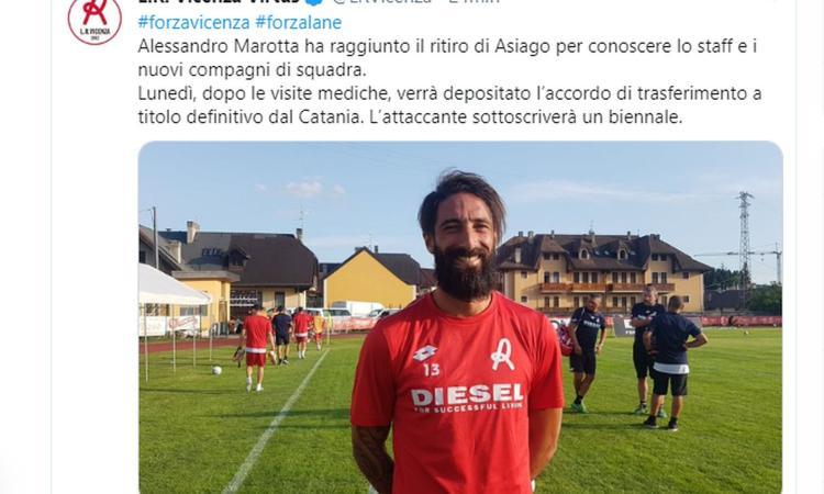 Vicenza, UFFICIALE: arriva Marotta