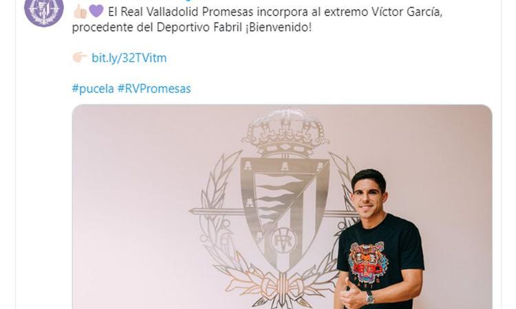 Valladolid, UFFICIALE: arriva Víctor García Raja