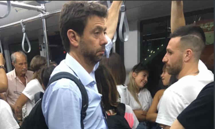 Intrigo Inter-Juve per Icardi, Agnelli vola a Ibiza FOTO
