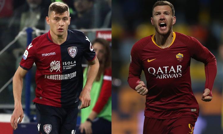 Inter, oggi incontri per Dzeko e Barella