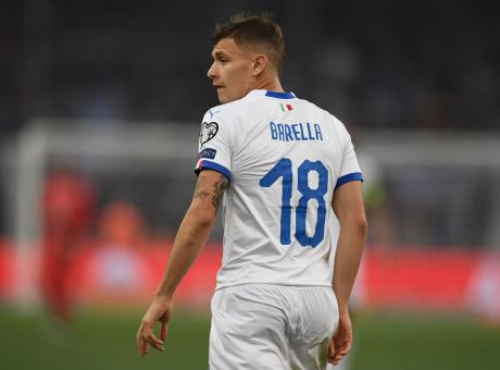 Inter, Barella chiederà la numero 18 ad Asamoah
