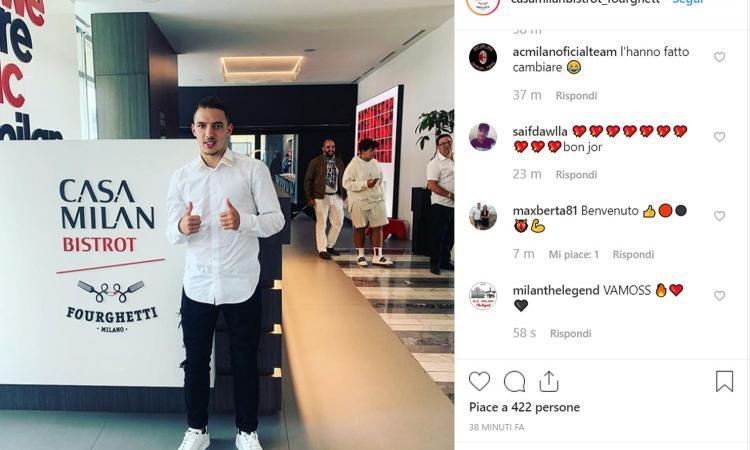 Milan, Bennacer lascia la sede dopo la firma: tutti i dettagli