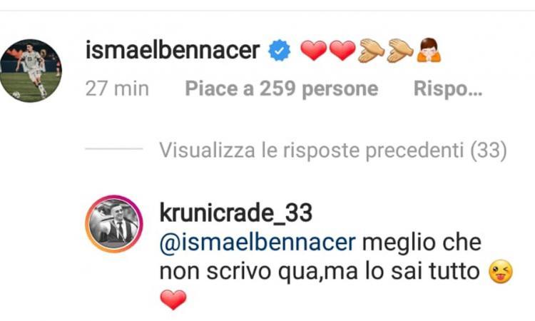 Milan, il 'benvenuto' di Krunic a Bennacer? 'Non parlo ma...' FOTO