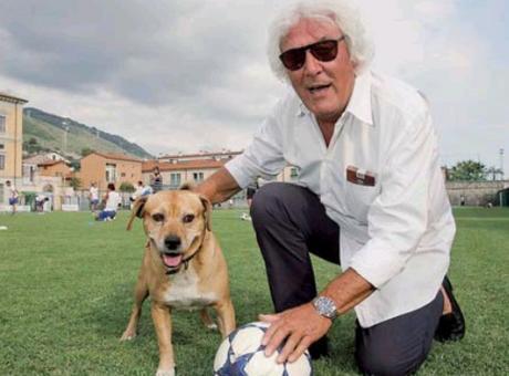 La buonanotte di Bernardini: la leggenda di Due, cane ultras di Pietrasanta