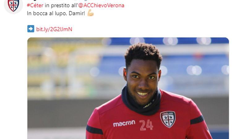 Cagliari, UFFICIALE: Ceter al Chievo