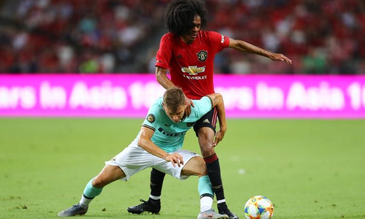 Chong dà spettacolo contro Skriniar: seguito dall'Inter, ha scelto il Man United