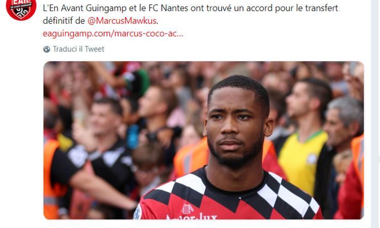 Guingamp, UFFICIALE: accordo per Coco al Nantes