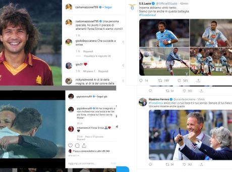 Il mondo del calcio abbraccia Mihajlovic: tutti i messaggi social
