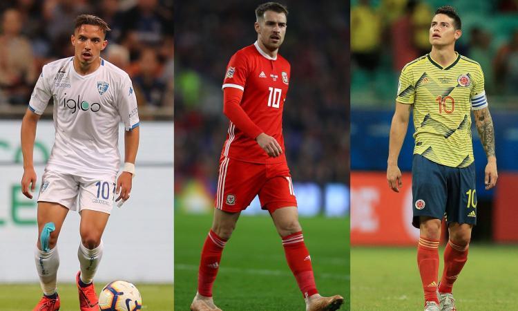 Rabiot, Ramsey, James Rodriguez, Bennacer: le grandi scelgono la qualità. Ci aspetta un campionato di bel gioco