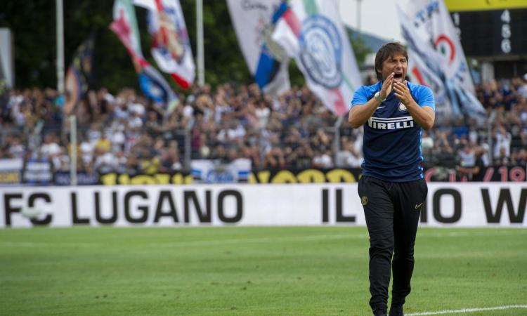 Inter, è già show in panchina con la 'Conte cam' VIDEO