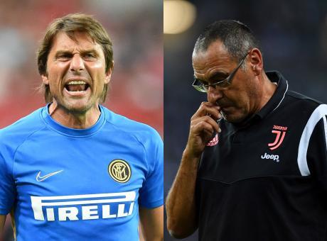 Inter-Juve è già incandescente, Conte a Sarri: 'Stia sereno, adesso è al lato forte' VIDEO