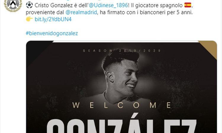Le vie di Cristo (Gonzalez) sono infinite: come quelle dell'Udinese
