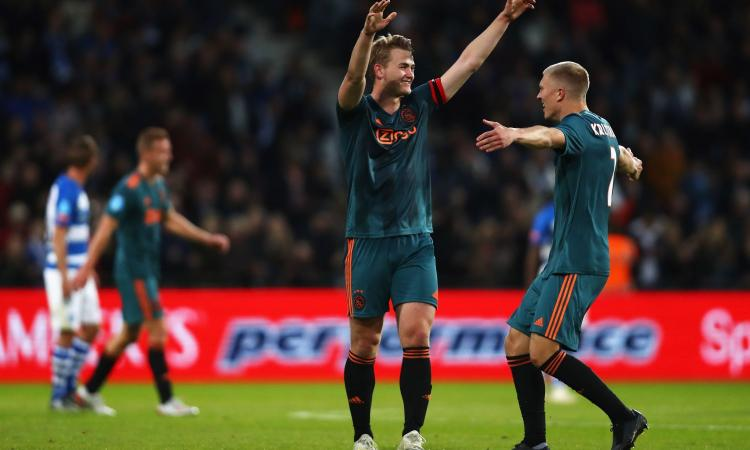 Juve-De Ligt, l'Ajax ha detto sì: la storia di un colpo da 80 milioni in cinque mosse