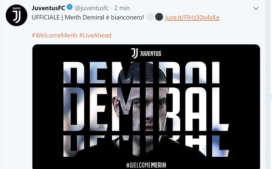 Nuovo giocatore Juve: arriva dal Sassuolo