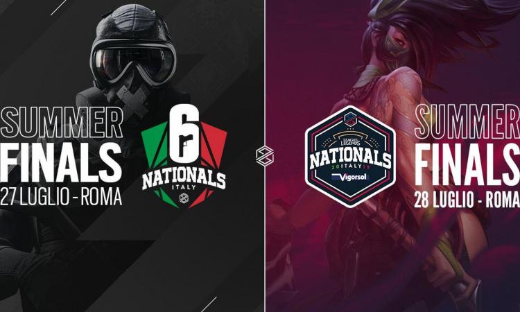 Weekend esportivo al Teatro Olimpico di Roma: finali di League of Legends e Rainbow Six Siege