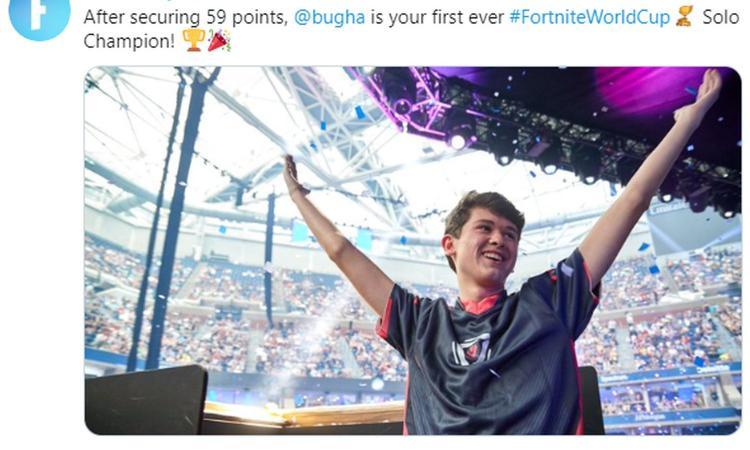 Fortnite World Cup, le finali milionarie del fenomeno battle royale: al 15enne 'Bugha' 1° posto e 3 milioni di dollari