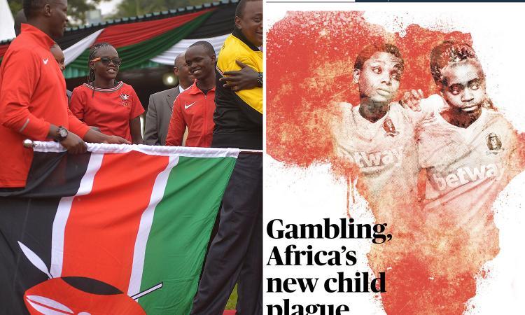 Inchiesta choc del Sunday Times: come le agenzie di scommesse sfruttano i minori in Kenya. E la Premier...