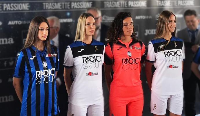 Atalanta, presentate le maglie gara per la stagione 2019/2020