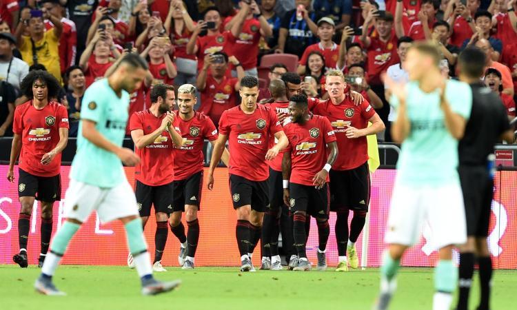 Greenwood punisce un'Inter 'spuntata': vince 1-0 il Manchester United, prima sconfitta per Conte