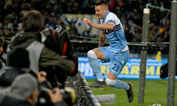 Milinkovic, l'agente è a Roma: per Lotito è in vendita, Inter e Psg...