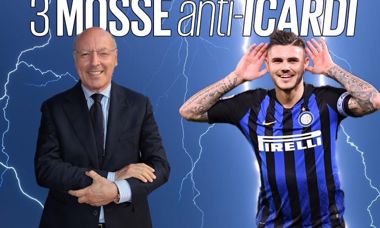 Inter, le 3 mosse di Marotta per mettere i tifosi contro Icardi. Ma ora non deve svenderlo...