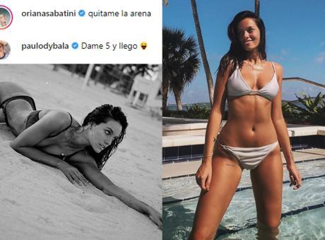 Oriana-Dybala, botta e risposta social: 'Toglimi la sabbia', 'Arrivo in 5 minuti' e la FOTO in spiaggia è top