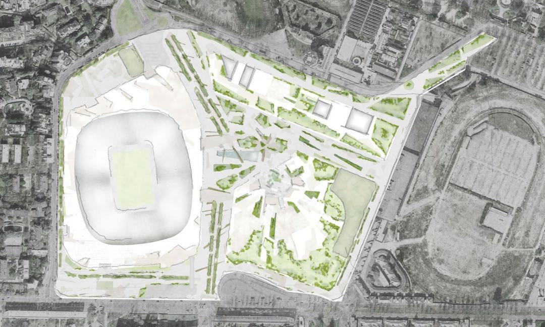 Inter-Milan: il progetto del nuovo stadio è mediocre