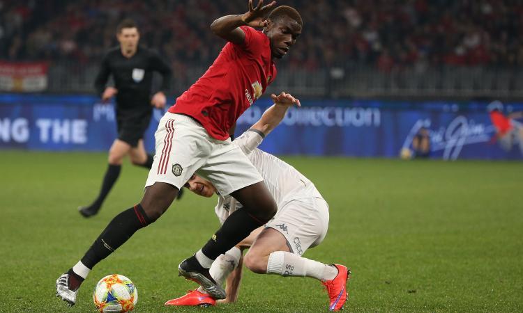 Manchester United: c'è una clausola per blindare Pogba