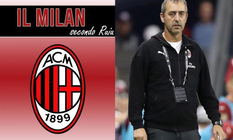 L'Inter è fortunata, il Milan no: Giampaolo trema, sarà una stagione in salita