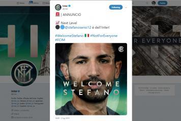 sensi, inter, ufficiale, twitter, 2019