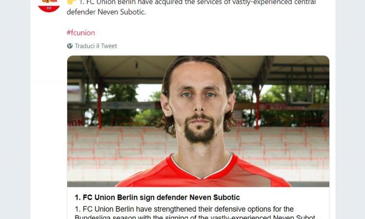 Union Berlino, UFFICIALE: un ex Dortmund per la difesa