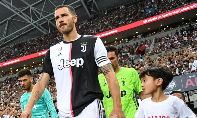 Juve, Bonucci: 'Inter da scudetto. Sarri l'opposto di Allegri, che fatica all'inizio!'