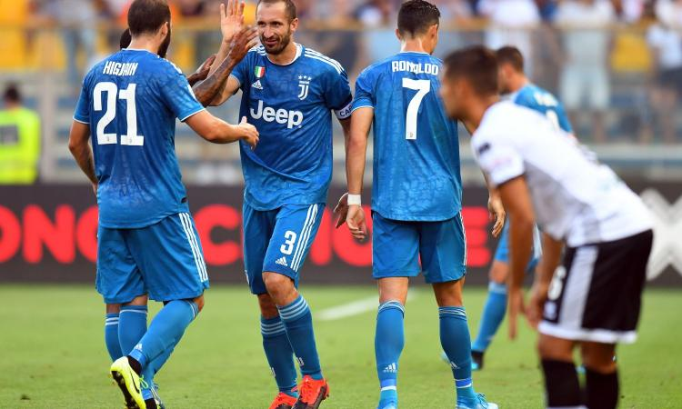 Serie A, Juve senza problemi a Firenze: Ronaldo e Higuain...