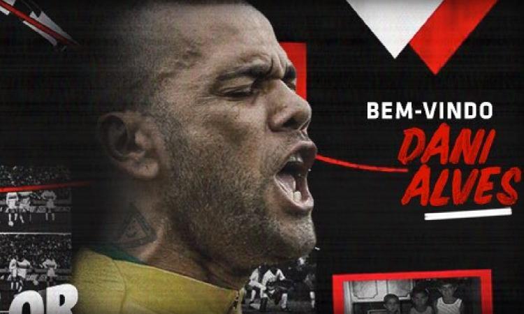 San Paolo, Dani Alves il più pagato in Brasile!