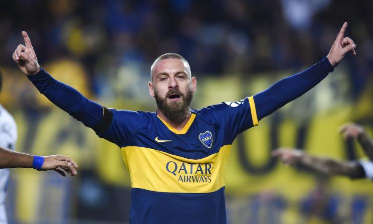 De Rossi, esordio da sogno: subito gol, ma il suo Boca Juniors perde VIDEO