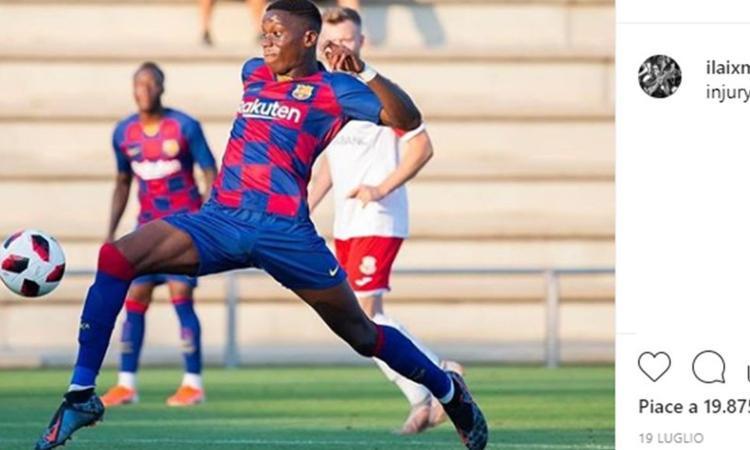 Lo voleva la Juve, lo blinda il Barcellona: Moriba costa 100 milioni a 16 anni