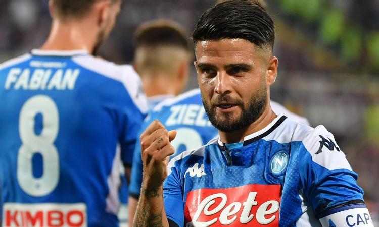 Il Napoli vince come la Juve di Allegri: arbitri e Insigne rovinano la festa della Fiorentina
