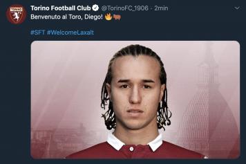 Laxalt Torino ufficiale
