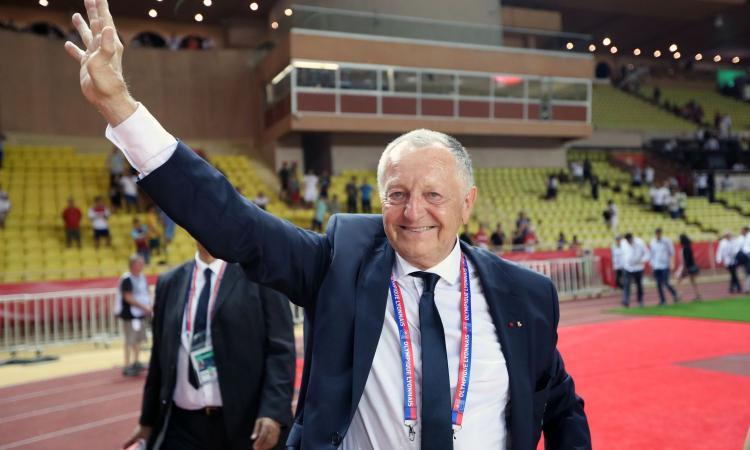 Lione, Aulas alla carica: 'Stop Ligue 1 più grande errore del calcio francese'